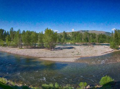 Rio Vista Deck Panorama Methow Valley Landscapes By Omashte