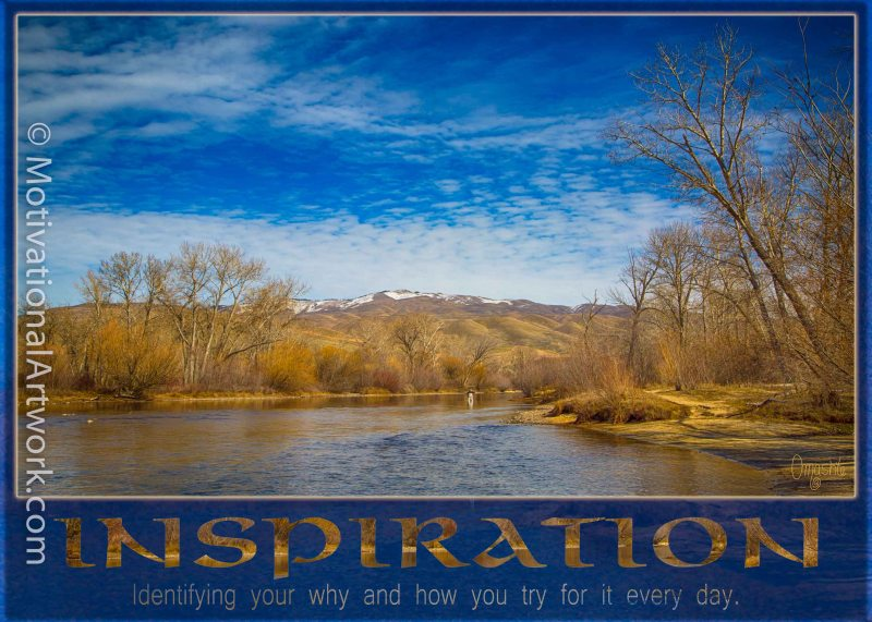 Boise River Inspiration by Omashte